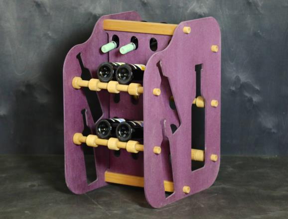 Cantinetta GIOVE in MDF colorato in pasta 12 colori - 8 mm